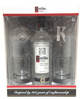 Ketel One Vodka Gift Set with 2 Glasses