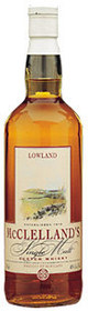 McClelland's Lowland Single Malt Scotch Whisky