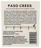 Paso Creek Merlot 2013