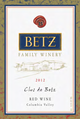 Betz Family Winery Clos de Betz 2012