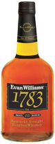 Evan Williams Small Batch 1783 Kentucky Straight Bourbon Whiskey 10 year old