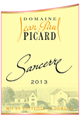 Jean-Paul Picard Sancerre 2013