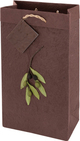 True Fabrications Assorted 2-Bottle Olive Branch Wine Bag