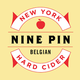 Nine Pin Belgian Hard Cider