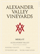 Alexander Valley Vineyards Estate Merlot 2013