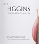 Figgins Estate Red Wine 2012