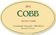 Cobb Coastlands Vineyard Diane Cobb Pinot Noir 2012