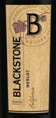 Blackstone Winemaker's Select Merlot 2013