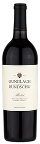 Gundlach Bundschu Estate Vineyard Merlot 2012