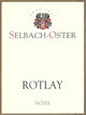 Selbach-Oster Zeltinger Sonnenuhr Riesling Rotlay 2014
