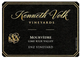 Kenneth Volk Enz Vineyard Mourvèdre 2012