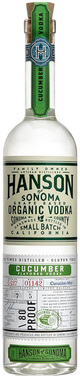 Hanson of Sonoma Organic Vodka Cucumber Mint