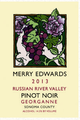 Merry Edwards Georganne Pinot Noir 2013
