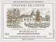 Chateau de Costis Bordeaux 2014