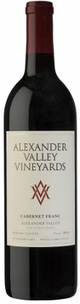Alexander Valley Vineyards Estate Cabernet Franc 2014