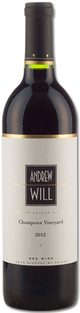 Andrew Will Champoux Vineyard Red Wine 2012