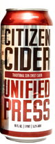Citizen Cider Unified Press Hard Cider