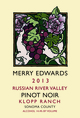 Merry Edwards Klopp Ranch Pinot Noir 2013