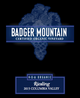 Badger Mountain NSA Riesling 2015