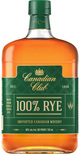 Canadian Club 100% Rye Canadian Whisky NV