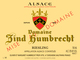 Domaine Zind Humbrecht Riesling 2014
