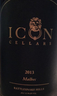 Icon Cellars Malbec 2013