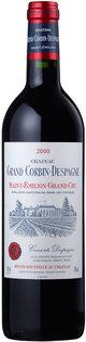 Château Grand Corbin Despagne Saint Emilion Grand Cru 2000
