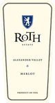 Roth Alexander Valley Merlot 2014
