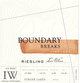 Boundary Breaks Single Vineyard Riesling Ice Wine