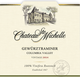 Chateau Ste. Michelle Columbia Valley Gewürztraminer 2014