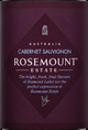 Rosemount Estate Diamond Label Cabernet Sauvignon 2014