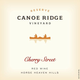 Canoe Ridge Reserve Cherry Street Red 2013