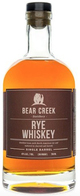 Bear Creek Distillery Single Barrel Rye Whiskey