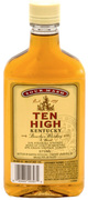 Ten High Kentucky Straight Sour Mash Bourbon Whiskey
