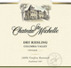 Chateau Ste. Michelle Columbia Valley Dry Riesling 2015