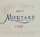 Moutard Pere et Fils Brut Champagne 1996