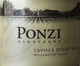 Ponzi Vineyards Tavola Pinot Noir 2015