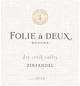 Folie a Deux Dry Creek Valley Zinfandel 2013