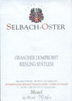 Selbach-Oster Graacher Domprobst Riesling Spatlese 2012