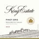 King Estate Willamette Valley Pinot Gris 2015