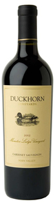 Duckhorn Estate Grown Monitor Ledge Vineyard Cabernet Sauvignon 2012