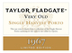 Taylor Fladgate Very Old Single Harvest Port 1967