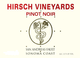 Hirsch Vineyards San Andreas Fault Pinot Noir 2014