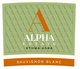 Alpha Estate Sauvignon Blanc 2016