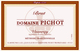 Domaine Pichot Vouvray Brut 2014