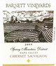 Barnett Vineyards barnet vineyards spring mountain cabernet 750 ml 2013
