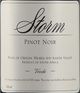 Hannes Storm Wines Vrede Pinot Noir 2013