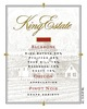 King Estate Backbone Pinot Noir 2013