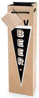 True Fabrications Beer Pennant Gift Bag
