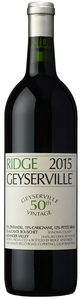 Ridge Vineyards Geyserville 2015